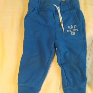 Gap Toddler Boys Blue Jogger